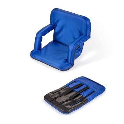 Portable Seat Chair Cushion Fabric: Blue