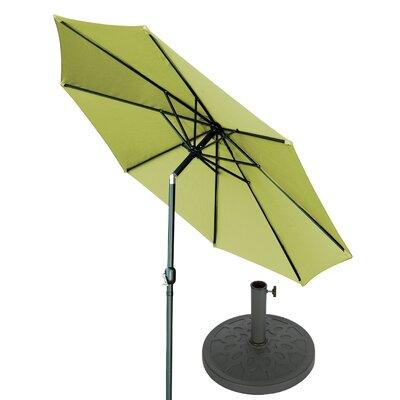 10 Market Umbrella Fabric: Light Green