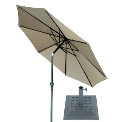 Image of 10' Market Umbrella Fabric: Tan