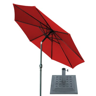 Image of 10' Market Umbrella Fabric: Red
