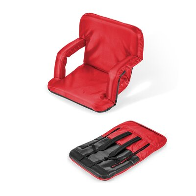 Portable Seat Chair Cushion Fabric: Red