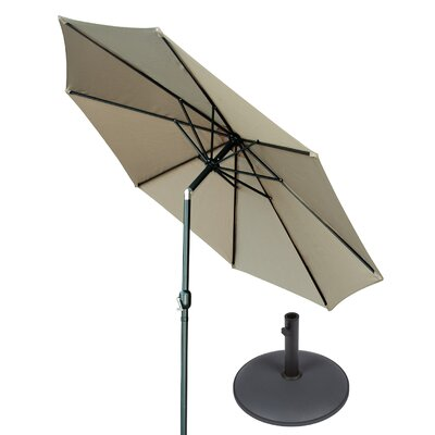 10 Market Umbrella Fabric: Tan