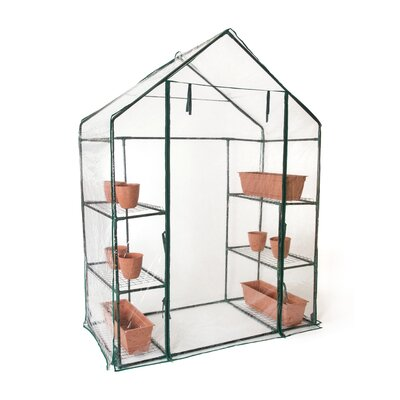 2.4 Ft. W x 4.7 Ft. D Greenhouse GRNHSE-WALKIN