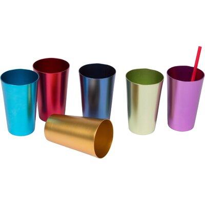 Retro 14 Oz. Juice Glass TMBLR-AL-6X-18OZ
