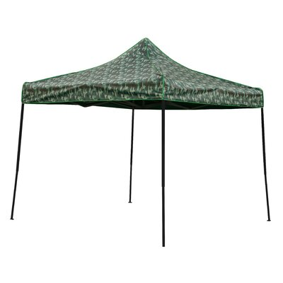 10 Ft. W x 10 Ft. D Canopy 10FTCAN-CAMO