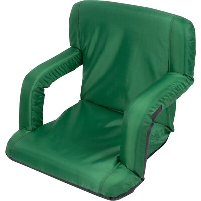 Portable Multi Use Seat Manual Recliner Color: Dark Green
