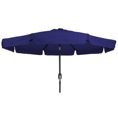 8 Drape Umbrella Color: Blue