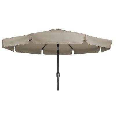8' Drape Umbrella Color: Tan