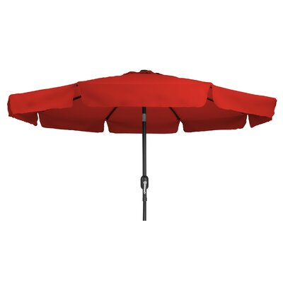 8 Drape Umbrella Color: Red