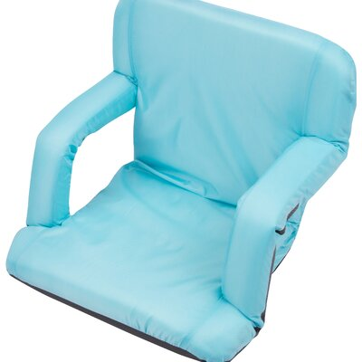 Portable Multi Use Seat Manual Recliner Color: Light Blue