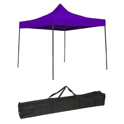10 Ft. W x 10 Ft. D Canopy 10FTCAN-PRPLE