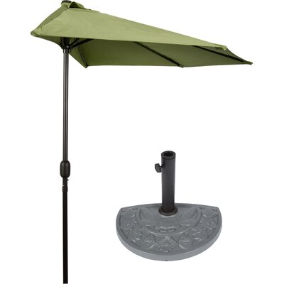 9 Market Umbrella Color: Light Green