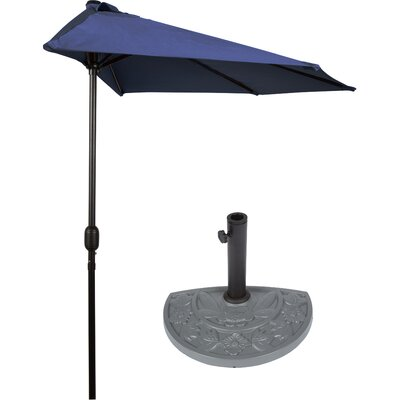 6 Market Umbrella Color: Blue