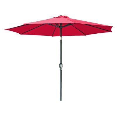 7 Market Umbrella Color: Red