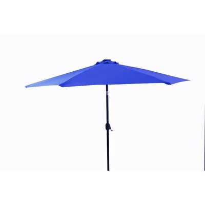 10 Illuminated Umbrella Color: Blue
