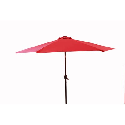 10 Illuminated Umbrella Color: Red