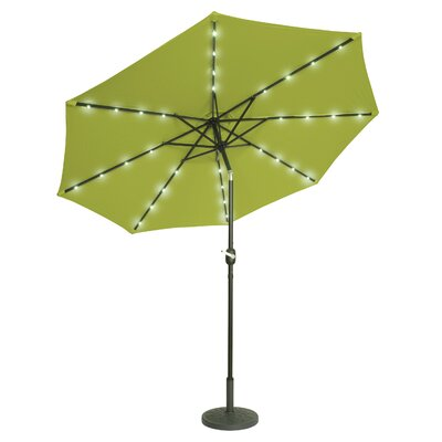 10 Illuminated Umbrella Color: Light Green