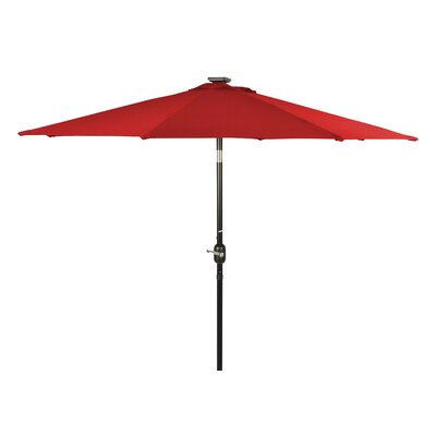 8 Illuminated Umbrella Color: Red