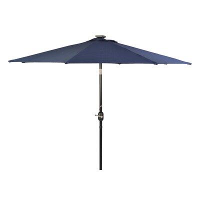 8 Illuminated Umbrella Color: Blue