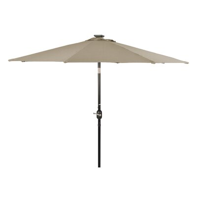 8 Illuminated Umbrella Color: Tan