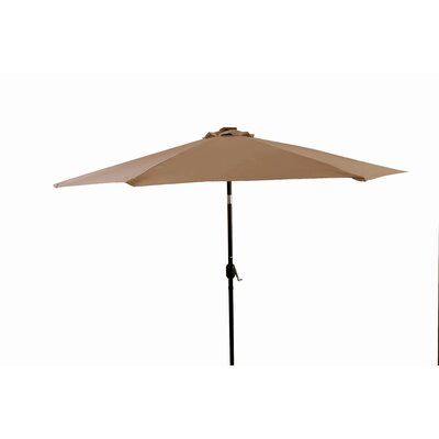Image of 10' Lighted Umbrella Color: Tan