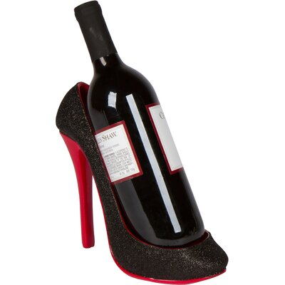 High Heel 1 Bottle Tabletop Wine Holder