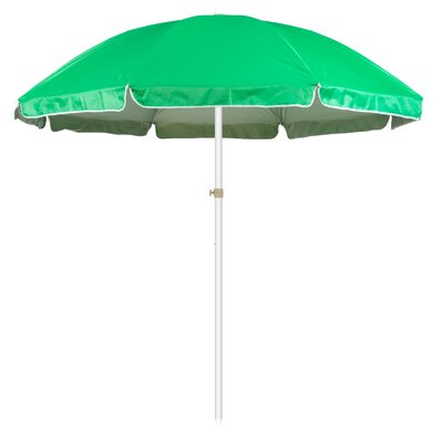 6.5 Portable Beach and Sports Drape Umbrella Fabric: Green