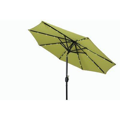 8 Illuminated Umbrella Color: Light Green