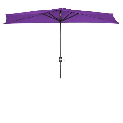 9 Market Umbrella Fabric: Purple