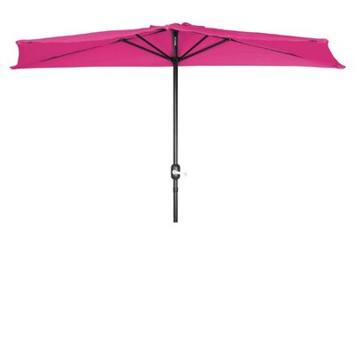 9 Market Umbrella Fabric: Rose