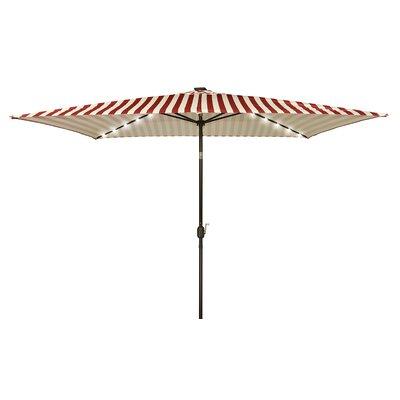 10 x 6.5 Rectangular Illuminated Umbrella