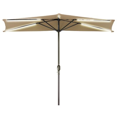9 Half Illuminated Umbrella