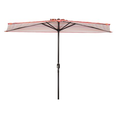 9 Patio Half Market Umbrella