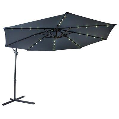 Offset Patio Cantilever Umbrella  Color: Blue