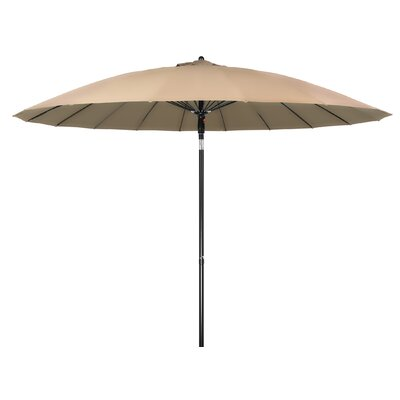 9 Push-Up Patio Market Umbrella Color: Tan