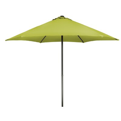 9 Push-Up Patio Market Umbrella Fabric: Light Green