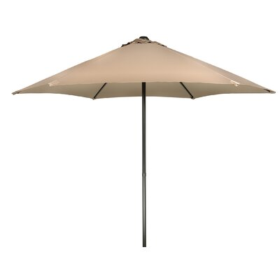 9 Push-Up Patio Market Umbrella Fabric: Tan