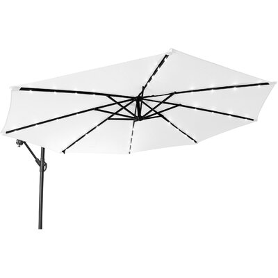 Image of 10' Cantilever Lighted Umbrella