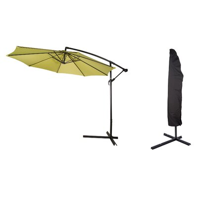 10 Deluxe Offset Patio Cantilever Umbrella