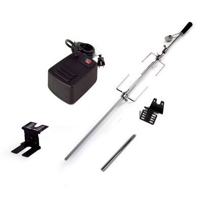 Universal Heavy Duty Rotisserie Kit for Grills DG9WB