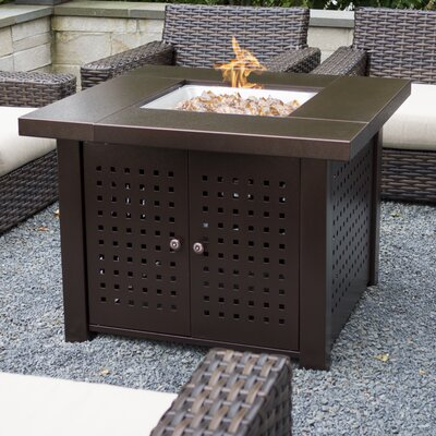 Pleasant Hearth Ofw821rc Langston Steel Wood Burning Fire Pit