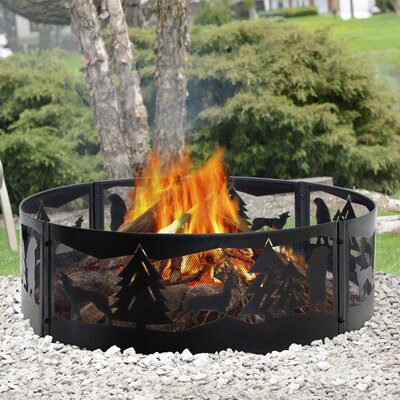 Pleasant Hearth Ofw155h Chesterfield Wood Burning Fire Pit