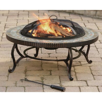 Outdoor Natural Slate Fire Pit