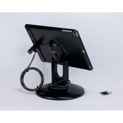 Locking iPad Air and iPad Air 2 Station Stand Finish: Black