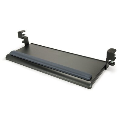 Desk-Clamp Keyboard Tray