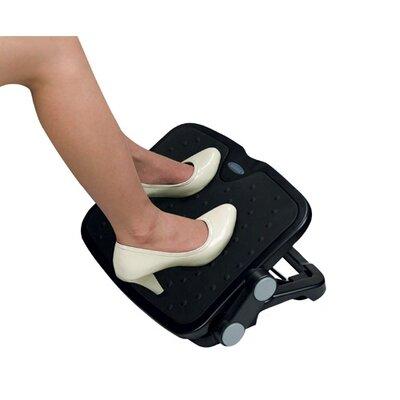 Luxe Comfort Footrest Color: Black