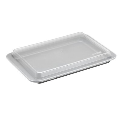"Basics 15"" x 10"" Nonstick Bakeware Covered Cookie Pan"