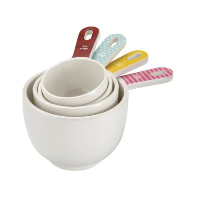 Cake Boss 4 Piece Countertop Melamine Measuring Cup Set 59587