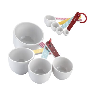 Countertop Accessories 8 Piece Measuring Cup & Spoon Set 55467