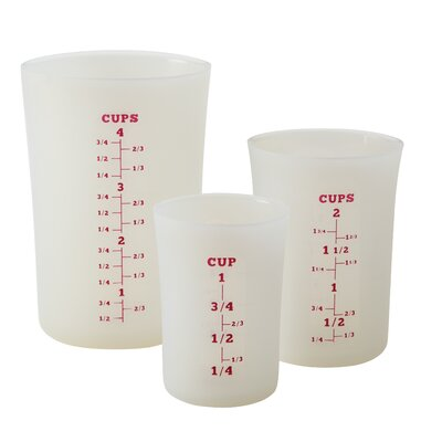 Cake Boss 3 Piece Liquid Measuring Cup Set 59371